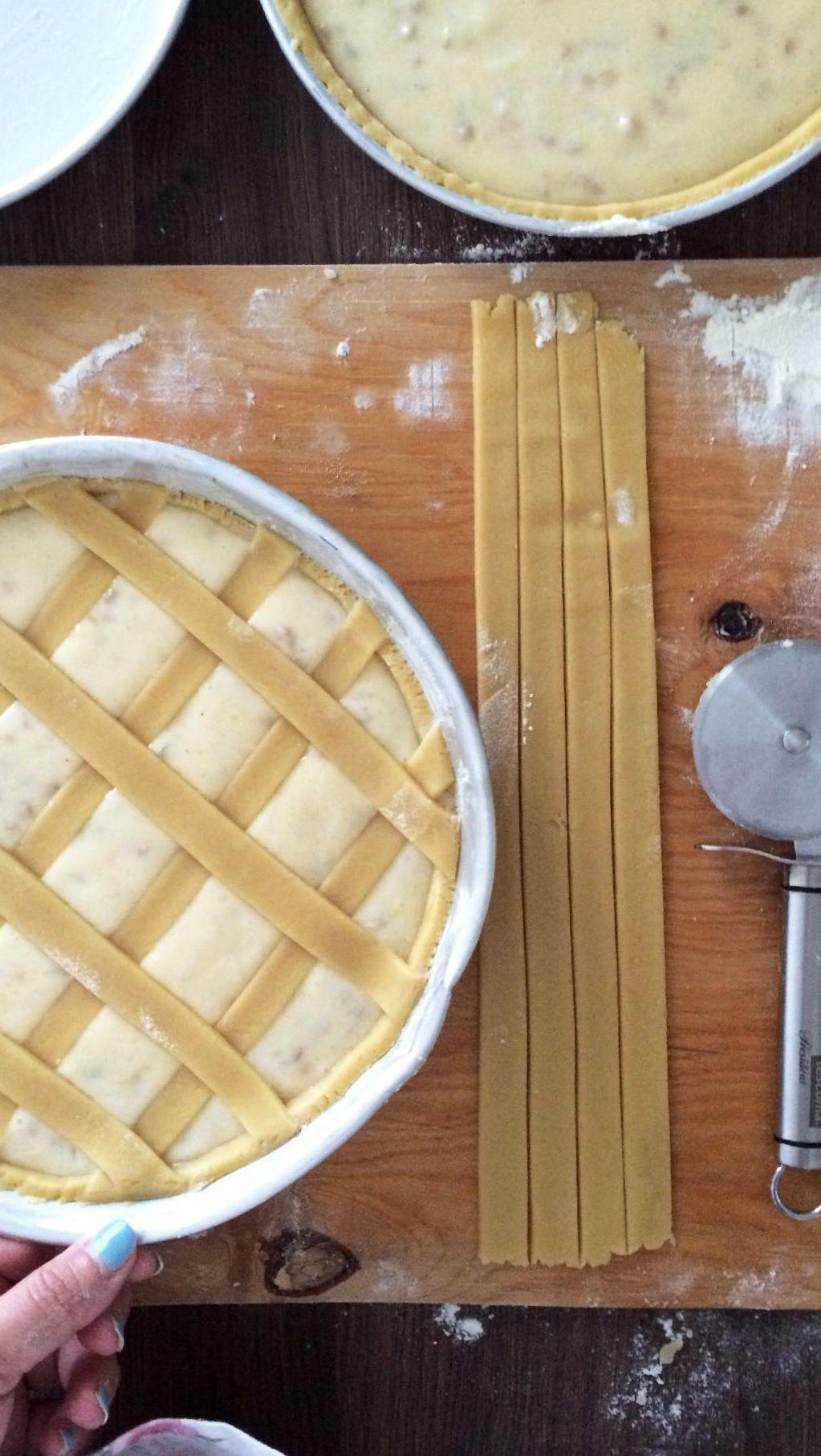 Pastiera napoletana - Procedimento