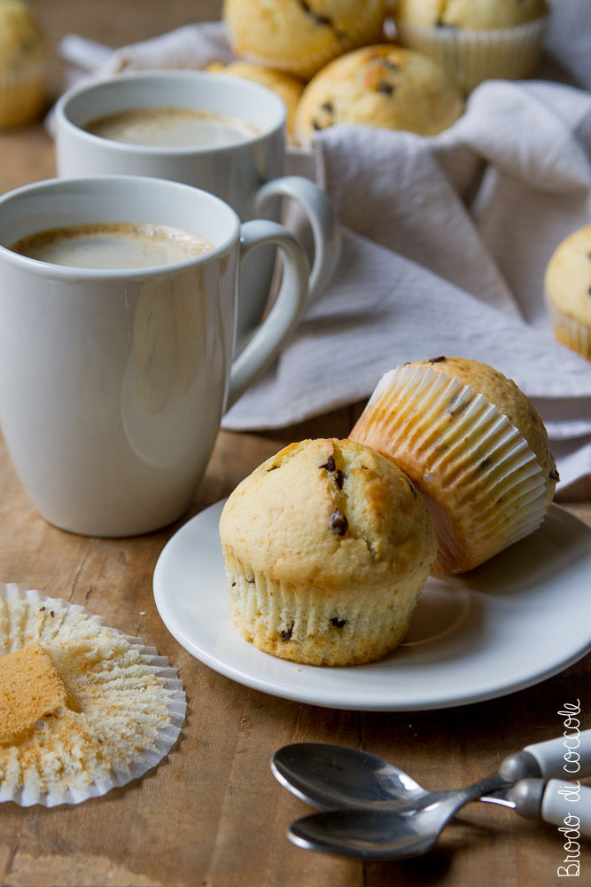 Muffin allo yogurt (senza bilancia)