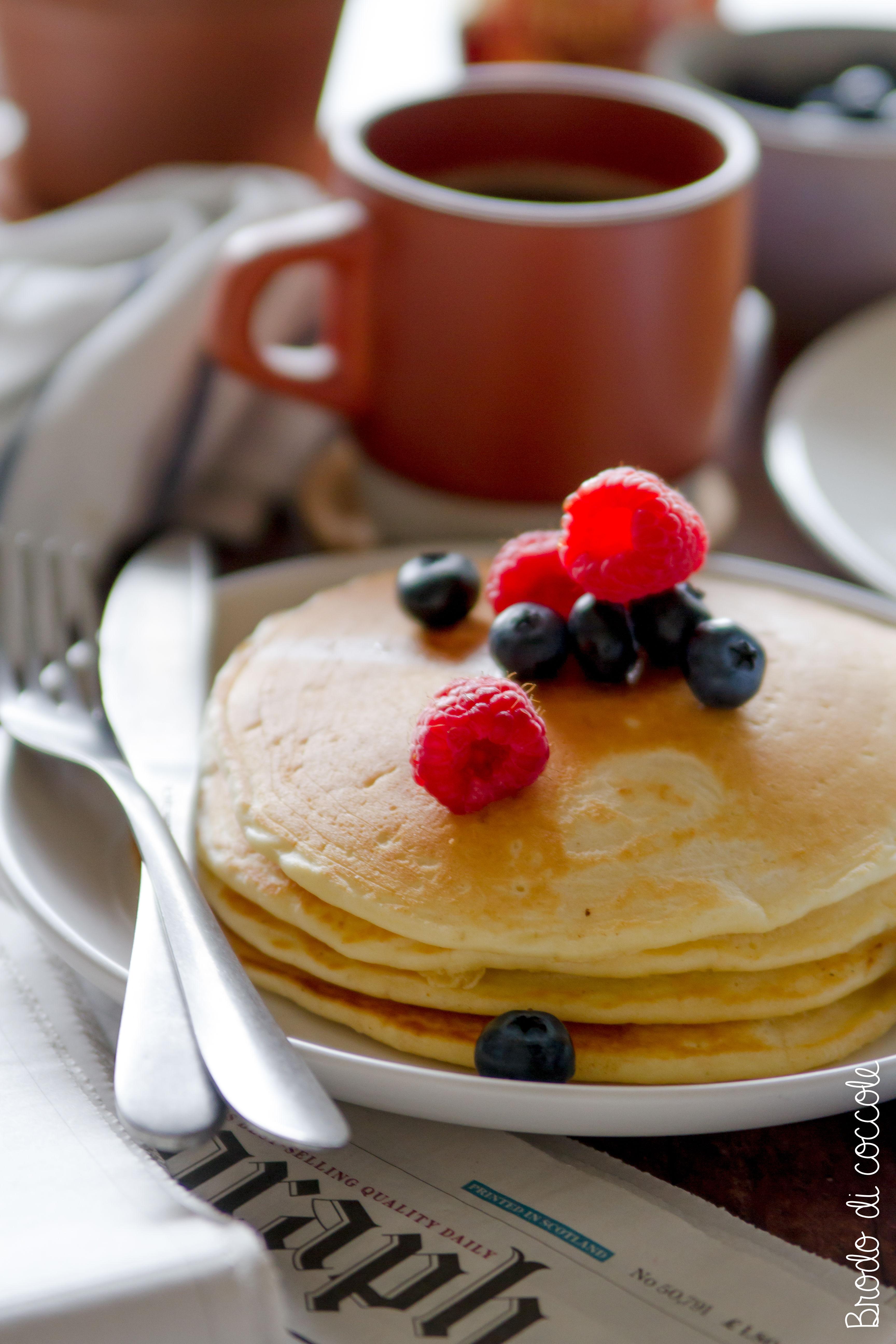 pancake all'americana