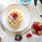 Come preparare i waffle (con videoricetta)
