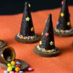 Cappelli di strega di biscotto