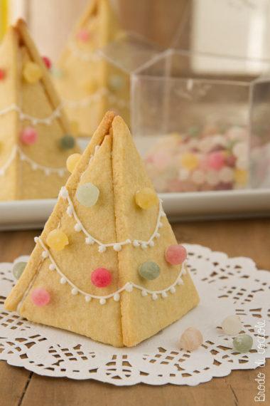 Alberi di Natale di biscotto