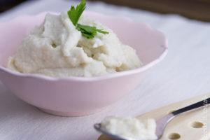 Crema di cavolfiore al latte di cocco