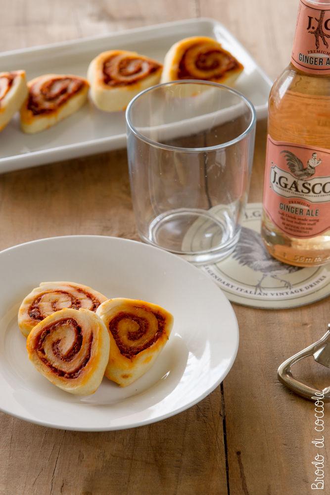Ricette per Ferragosto - Girelle ai pomodori secchi