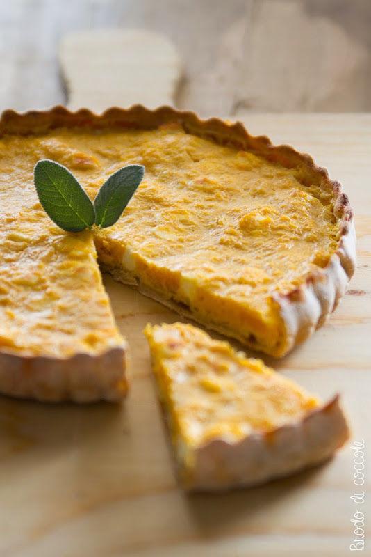 Ricetta per Ferragosto - Torta salata di zucca e feta