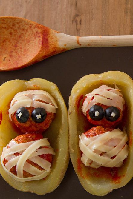 Polpette mummiette per Halloween