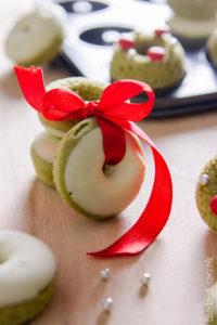 Ghirlandine dolci al tè matcha