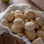 Crinkle cookies al lime