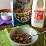 New York - Colazione a casa con cereali e latte nella tanica