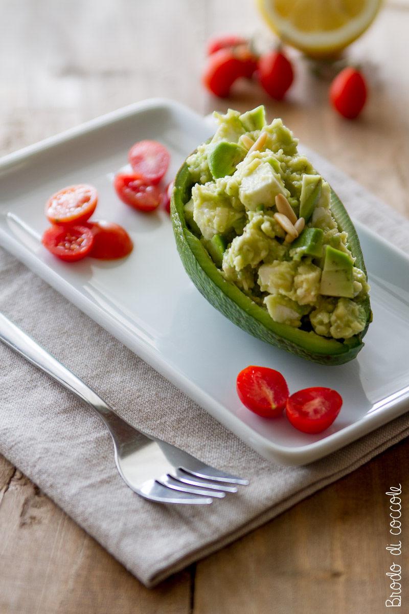 Ricetta per Ferragosto - Insalata di avocado e feta