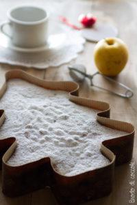 Torta di mele con la panna