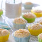 Muffin con cocco e ananas