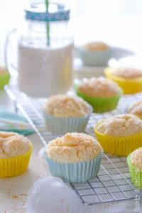 Muffin cocco e ananas