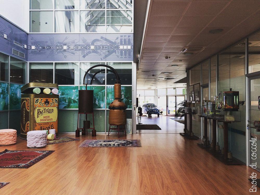 Pastiglie Leone - L'ingresso dell'azienda
