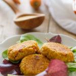 Polpette di amaranto, carote e pomodori secchi