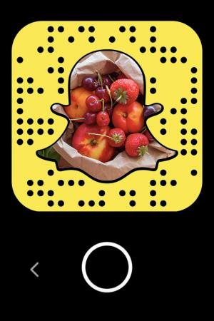 Snapchat per raccontare il cibo