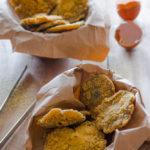 Funghi chiodini panati e fritti