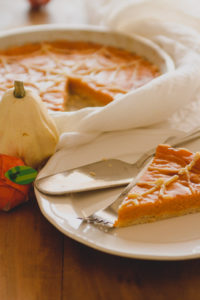 Pumpkin pie per Halloween