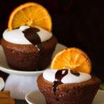Lava cake all'arancia
