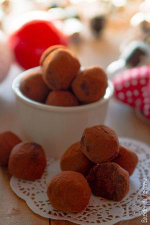 Tartufi al cioccolato fatti in casa
