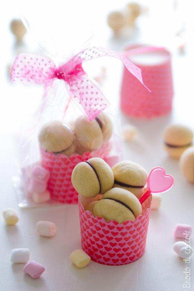 Baci di dama per San Valentino
