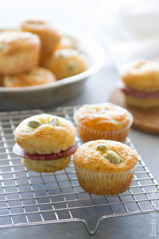 Ricette per Ferragosto - Muffin con fave e pecorino
