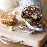 Salame di cioccolato (ricetta classica e senza uova)