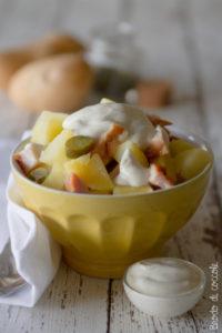 Insalata di patate e prosciutto di tacchino