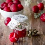 Confettura di prugne con zenzero, cannella e menta