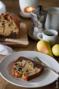 Plumcake al cioccolato e burro d'arachidi
