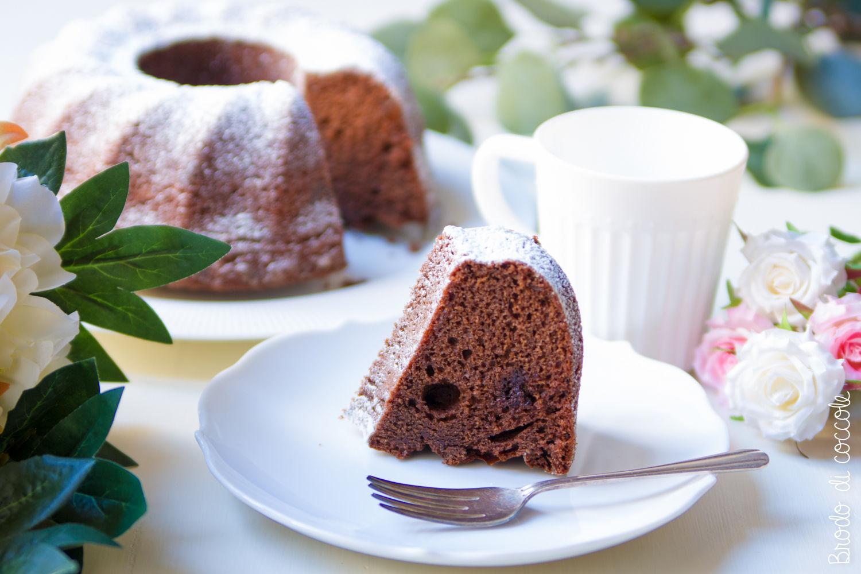 Ciambella al cioccolato senza bilancia