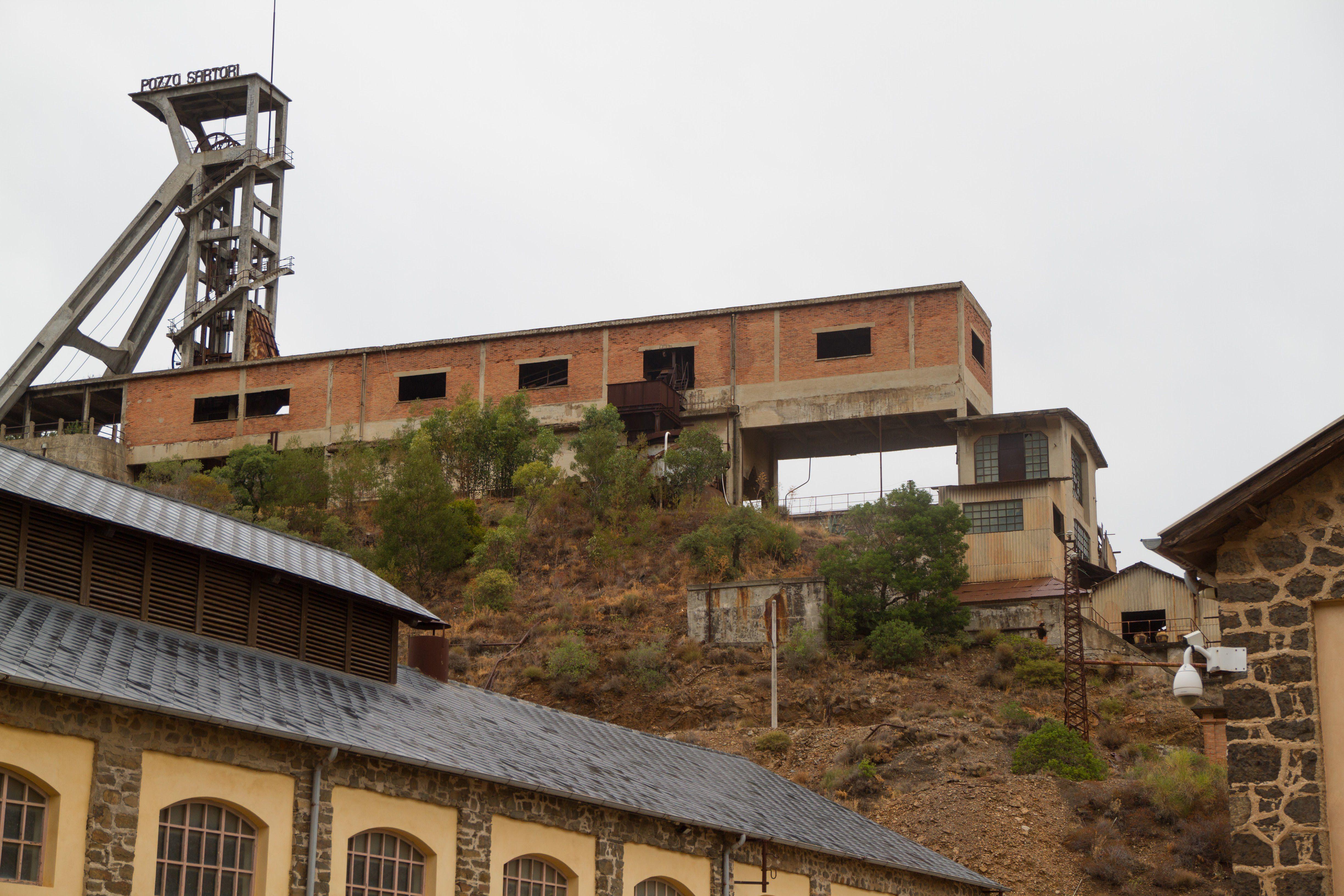 Sardegna - Miniera di Montevecchio