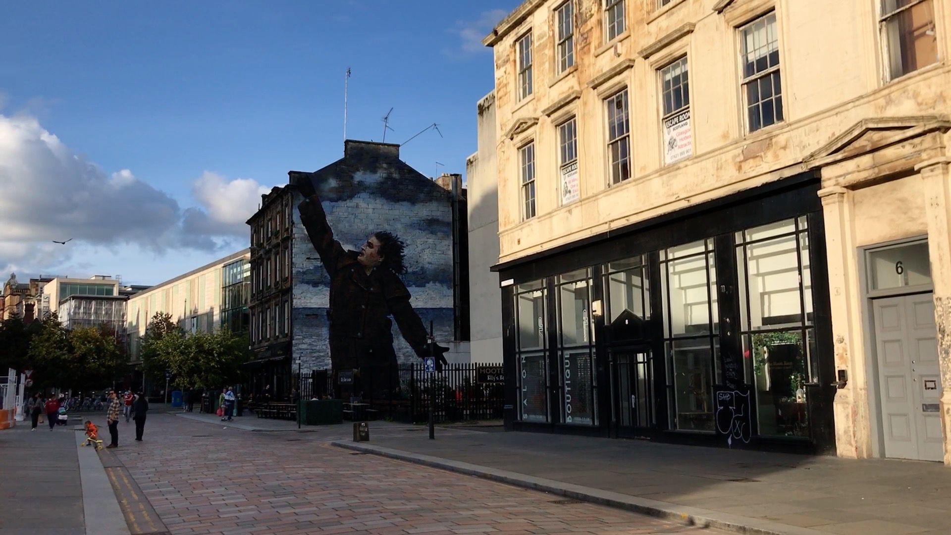Glasgow - Street art