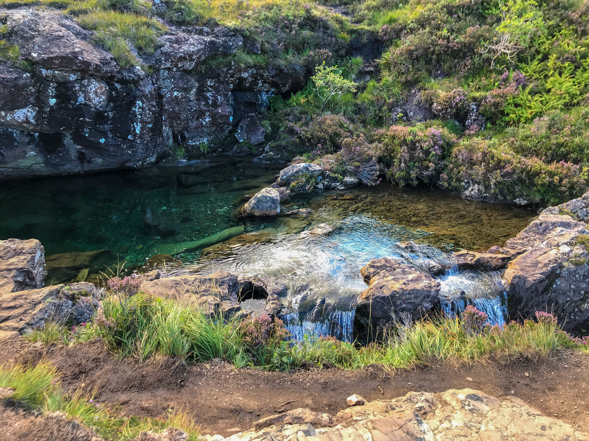 Isola di Skye - Fairy Pools