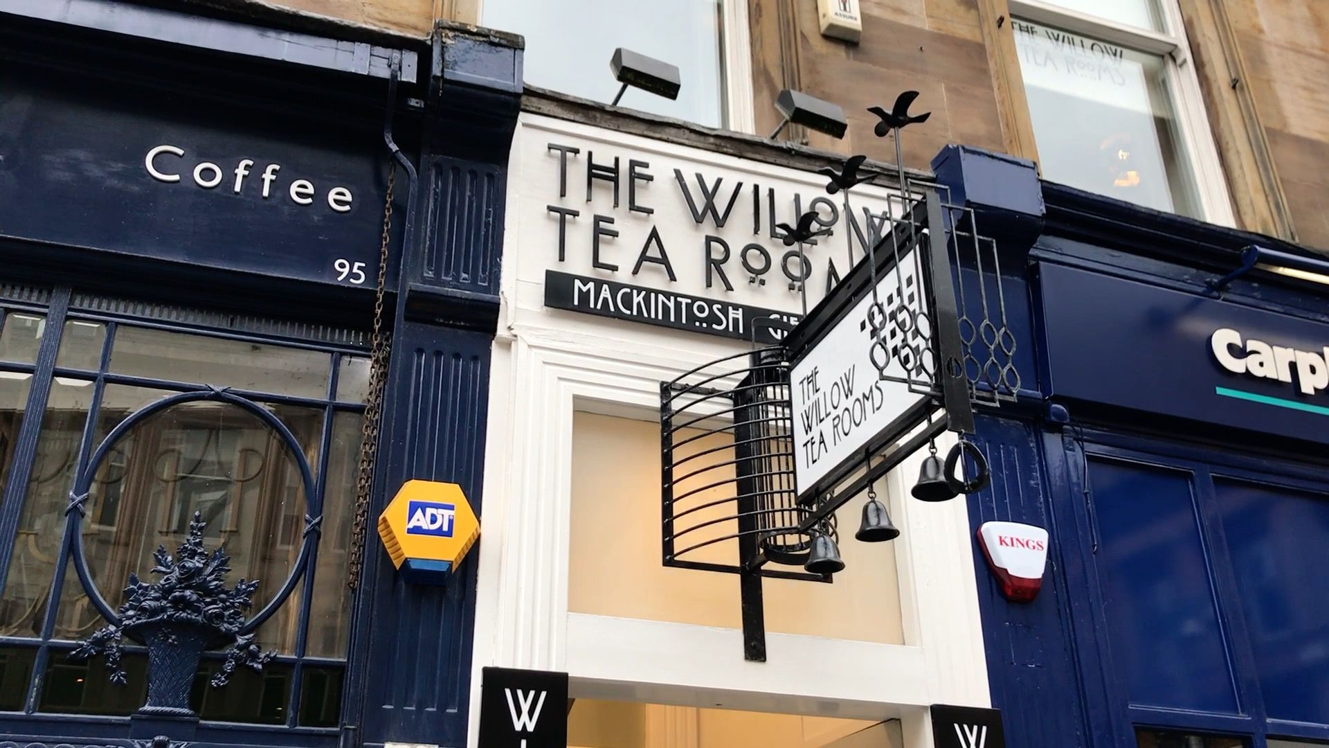 Glasgow - Willow tearooms
