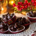 Cioccolatini veloci con la frutta secca