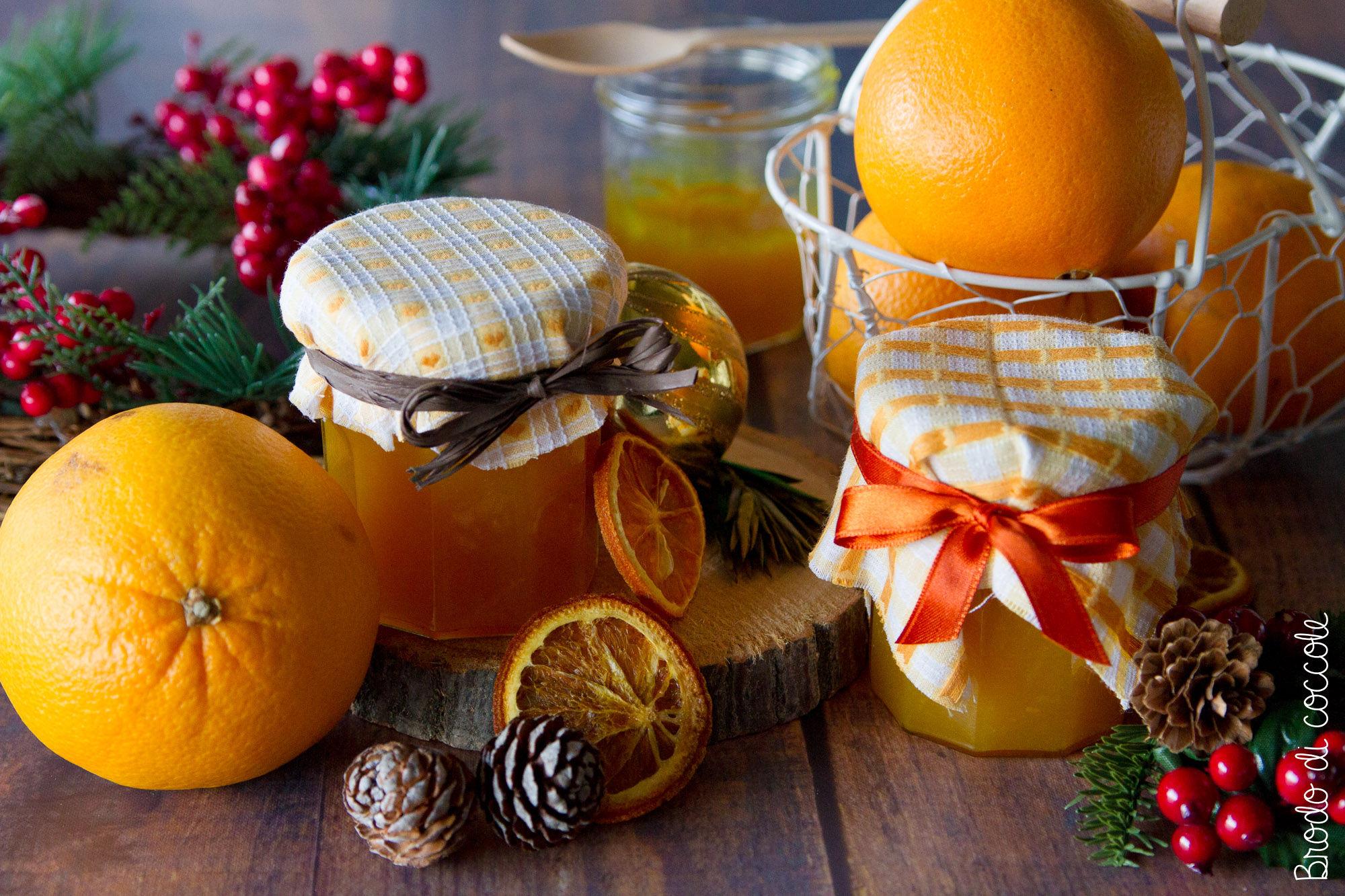 Marmellata di arance e curcuma