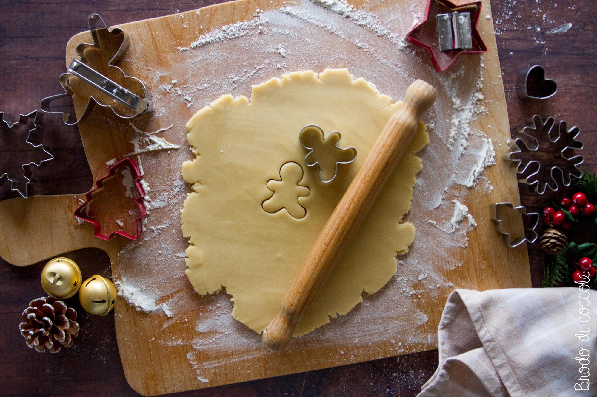Pasta frolla perfetta per i biscotti di Natale
