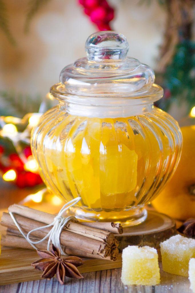 Gelatine all'arancia fatte in casa