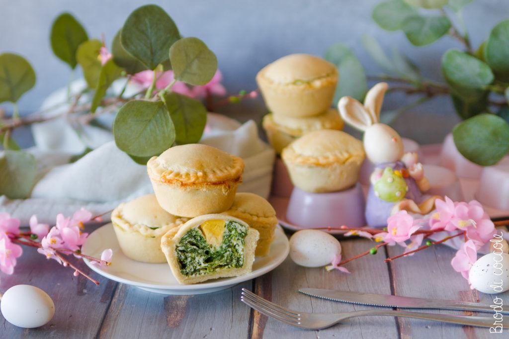 Torte Pasqualine in monoporzione