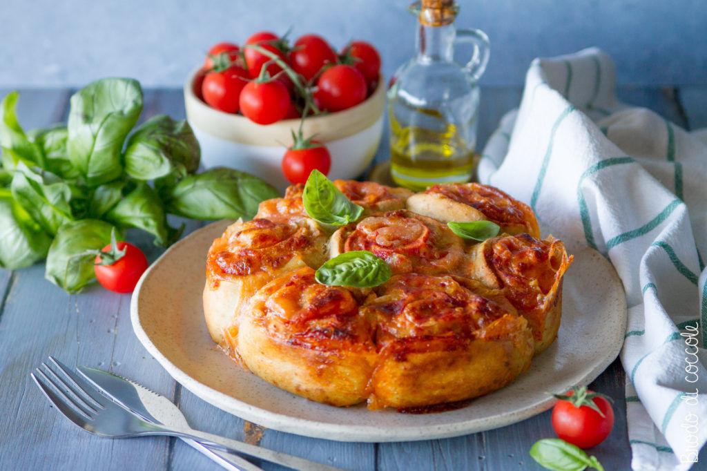 Torta di rose salata (senza lievitazione)