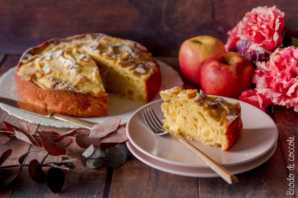 Torta di mele al mascarpone
