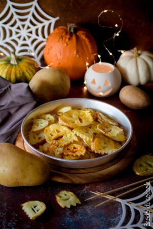 Fantasmi di patate per Halloween