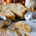 Torta rustica di pane e mele