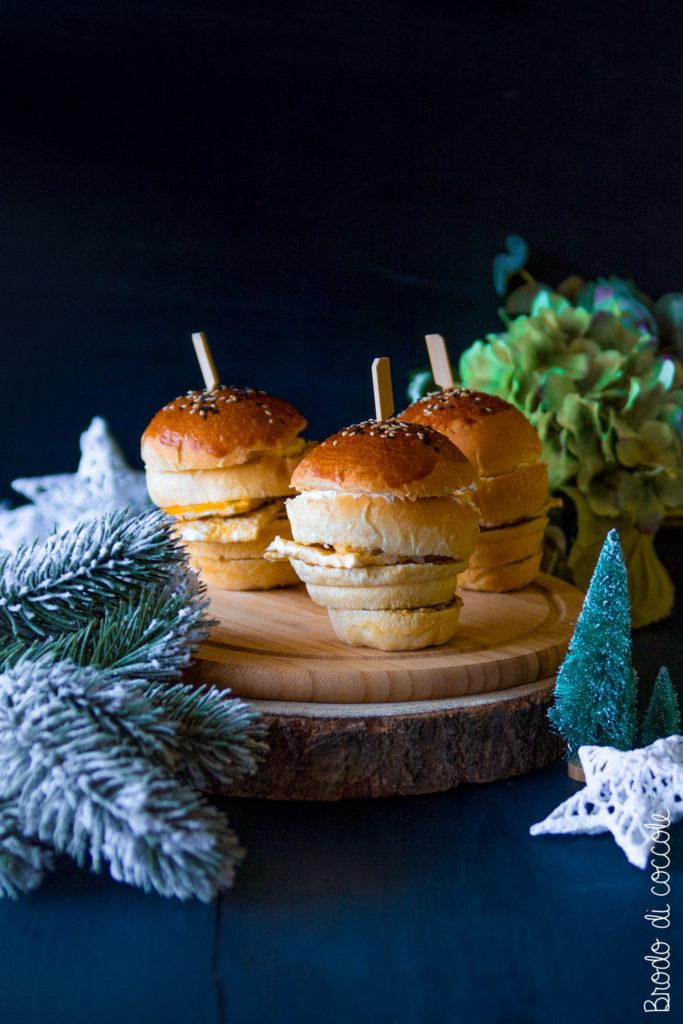 Mini panettoni gastronomici