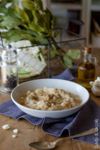 Pasta con cavolfiore cremosa